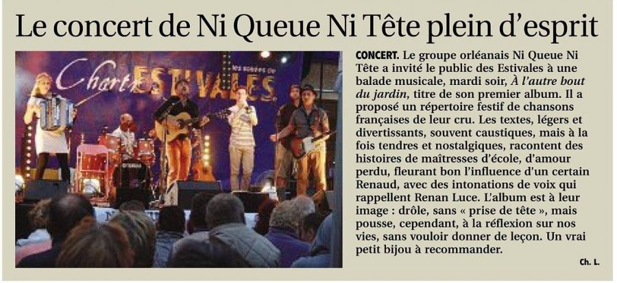 Article presse chartres
